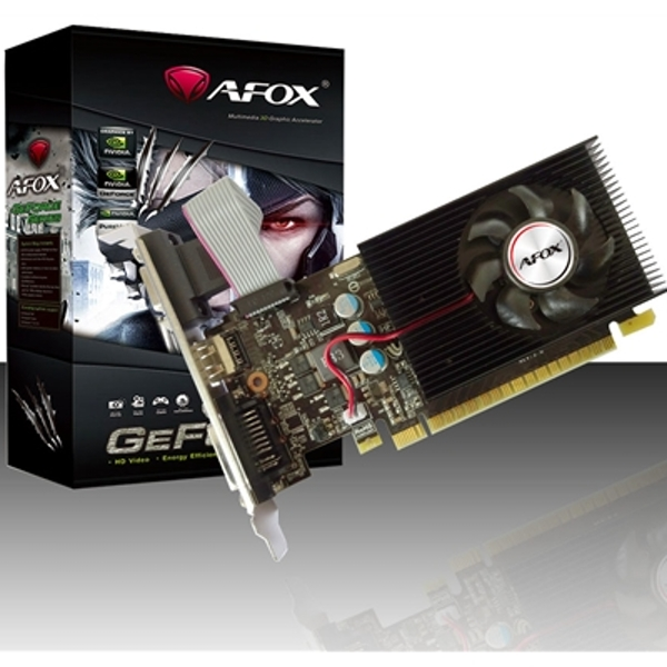AFOX GeForce GT730 4GB 128bit DDR3 Low Profile PCI-E Graphics Card