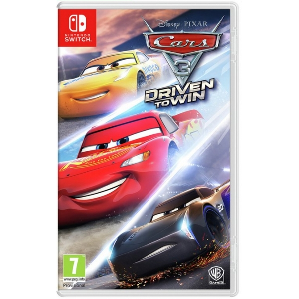 Cars 3 Driven to Win Nintendo Switch Game
