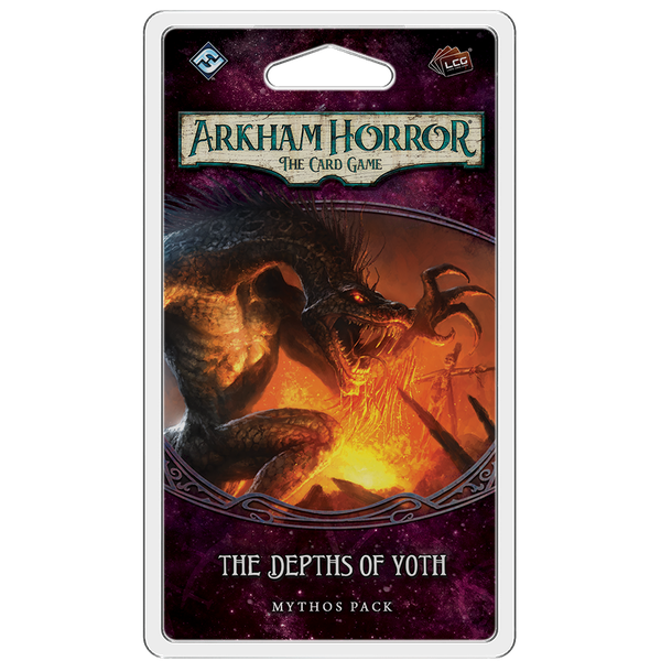 Arkham Horror LCG: The Depths of Yoth Mythos Expansion Pack