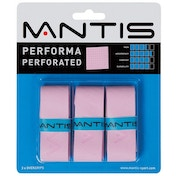 MANTIS Performa Perforated Overgrip 3 Pack Pink
