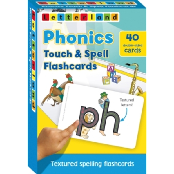 Phonics Touch & Spell Flashcards : Textured Spelling Flashcards