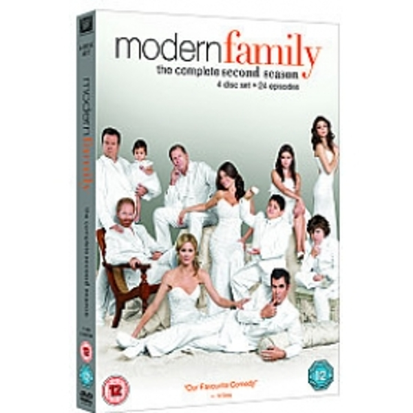 Modern Family Season 2 DVD