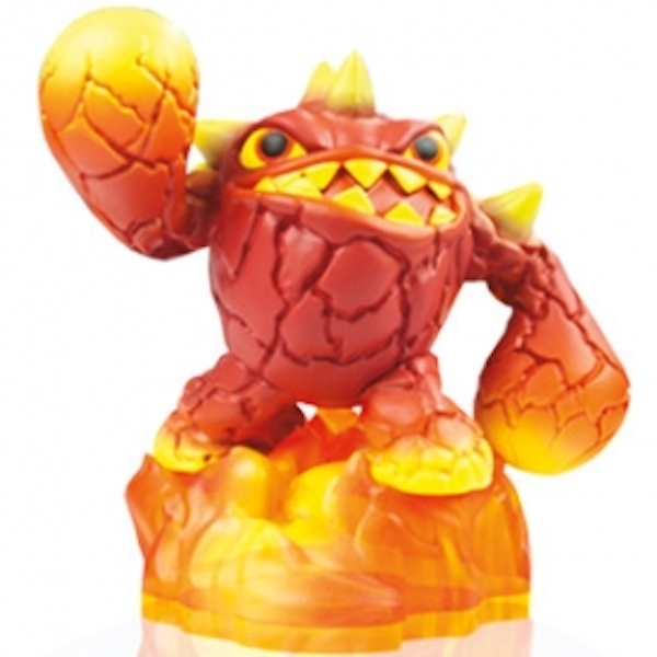 Slobber Tooth, Eruptor, and Pop Fizz (Skylanders Swap Force) Triple Character Pack A - Image 3