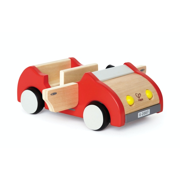 Hape Family Car Wooden Toy