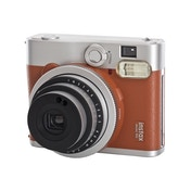 Fuji Instax Mini 90 Instant Camera - Brown inc 10 Shots