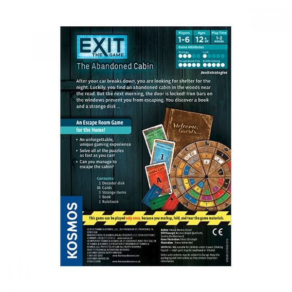 Exit: The Abandoned Cabin Board Game - Image 3