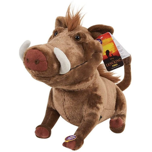 Pumbaa Live Action (The Lion King) Large Plush with Sound
