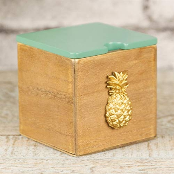 HESTIA? Storage Box With Pineapple Design