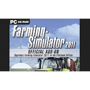 Farming Simulator 2011 Official Add-On PC CD Key Download for Excalibur