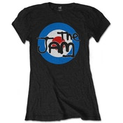 The Jam - Spray Target Logo Women's X-Large T-Shirt - Black