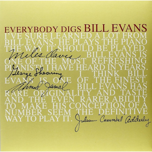 Bill Evans Trio - Everybody Digs Bill Evans Vinyl