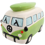 Large Green Campervan Moneybox