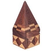 Decorative Sheesham (Pack Of 4) Wood Pyramid Box