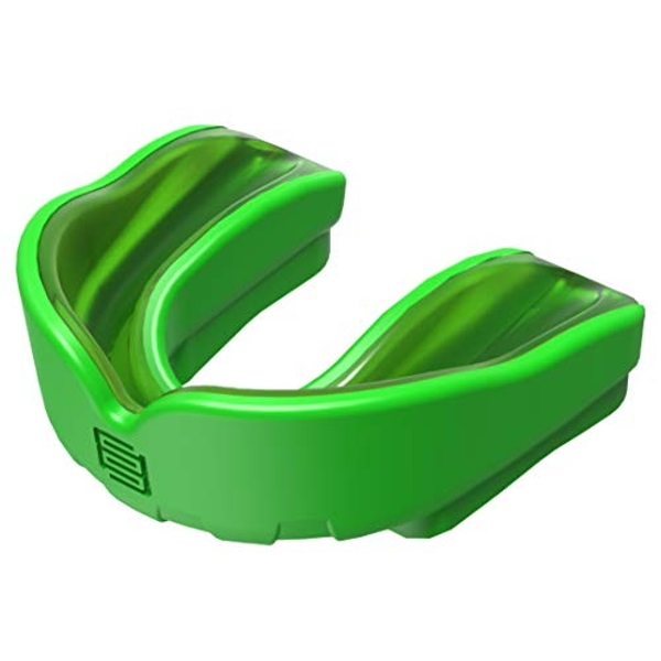 Makura Ignis Mouthguard - Green/Green, Junior (Age 10 & Under)