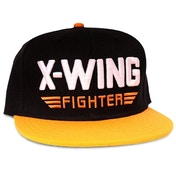 Star Wars VII The Force Awakens X-Wing Fighter Snapback Baseball Cap