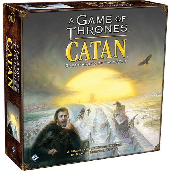Image of A Game of Thrones Catan: Brotherhood of the Watch Board Game