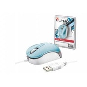 Trust Wired Optical Micro Mouse - Blue 16152