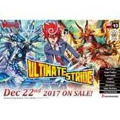 Cardfight!! Vanguard G TCG: Ultimate Stride Booster Box (16 Packs)