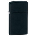 Zippo Slim Black Matte Windproof Lighter