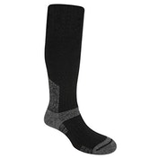 Bridgedale Men's Wool Fusion Summit Knee Socks, Black - Medium