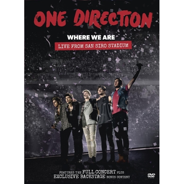 One Direction Where We Are DVD
