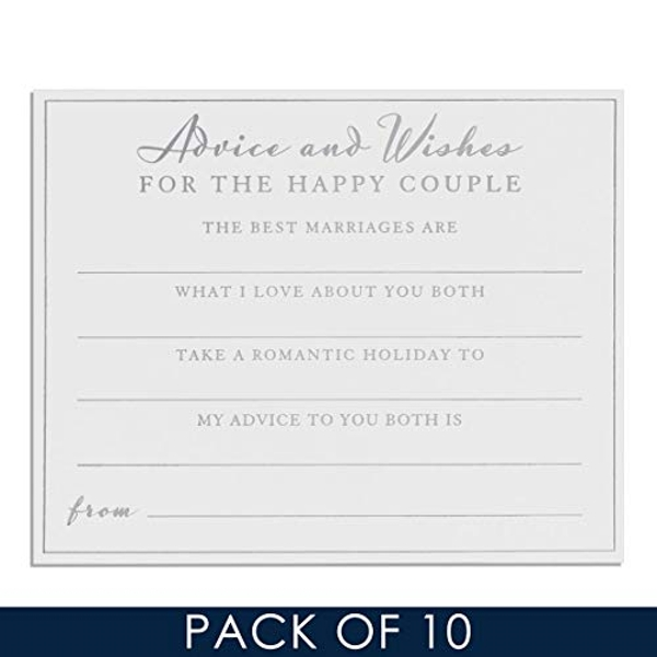 AMORE BY JULIANA? Wedding Advice Cards - Pack of 10