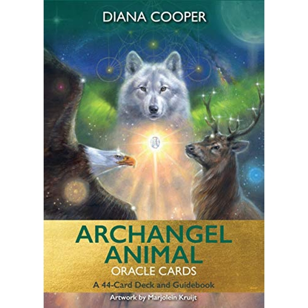 Archangel Animal Oracle Cards A 44-Card Deck and Guidebook Cards 2019