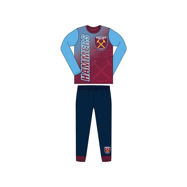 West Ham United Pyjamas Sublimation Print 9/10 yrs