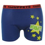 Disney Muppets Kermit Boxer Shorts Blue Large One Colour