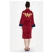 Batman v Superman Wonder Woman Adult Fleece Bathrobe - Image 2