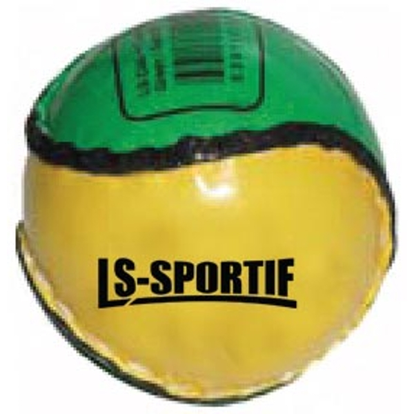 LS Sportif Hurling Club and County Sliotar Ball Green/Gold - Junior