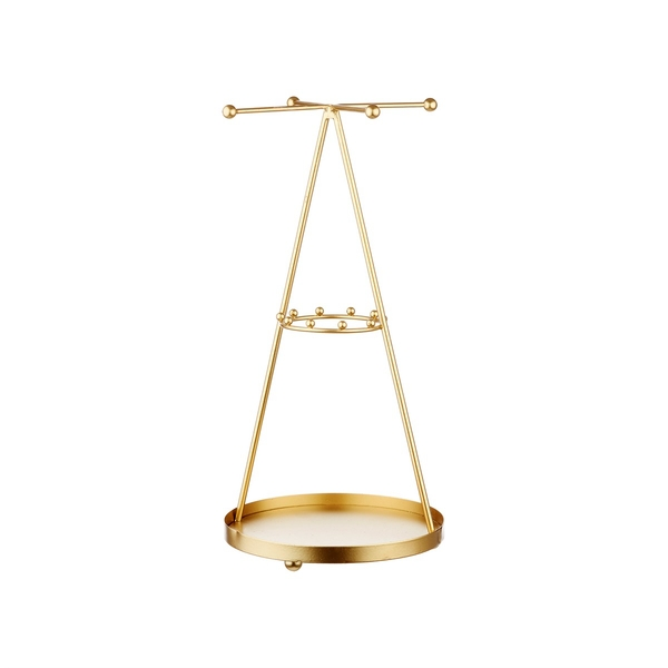 Sass & Belle Gold Pyramid Jewellery Stand