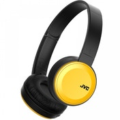 JVC Deep Bass Bluetooth On Ear Headphones Yellow