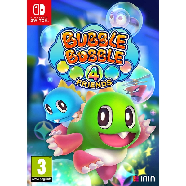 Bubble Bobble 4 Friends Nintendo Switch Game