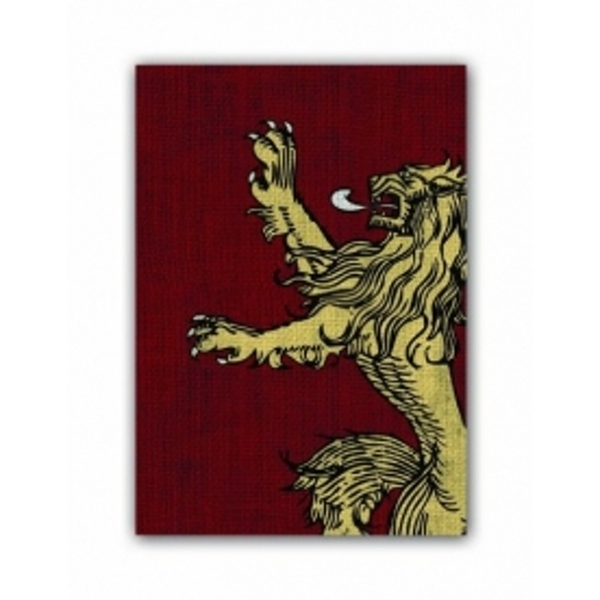 A Game of Thrones House Lannister 50 Art Sleeves (Case of 10)