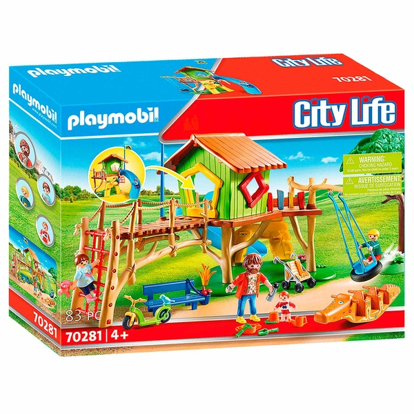 Playmobil City Life Adventure Playground Playset - Image 1
