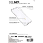 Tech21 Evo Pure Clear Case for iPhone X Transparent