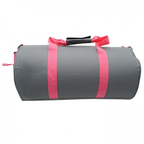 Lonsdale Barrel Bag Charcoal   Pink - 365games.co.uk b617f7d9a2fbe