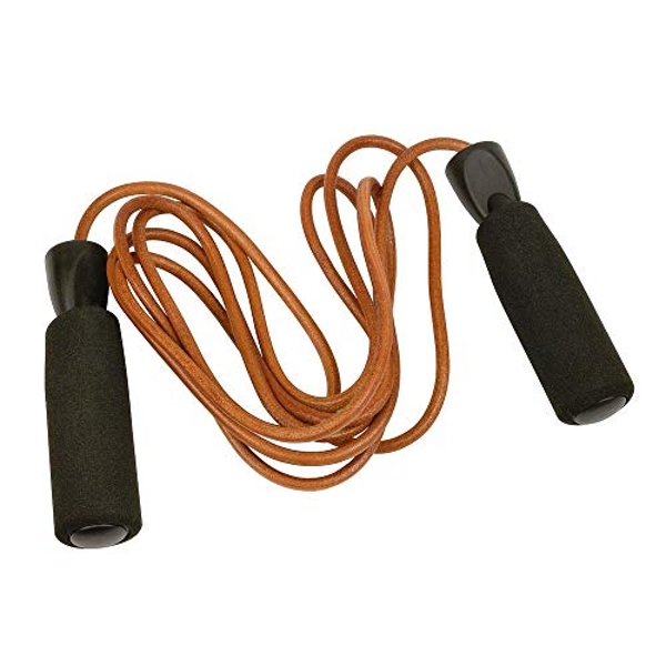 Urban Fitness Equipment Leather Jump Rope 2.7m