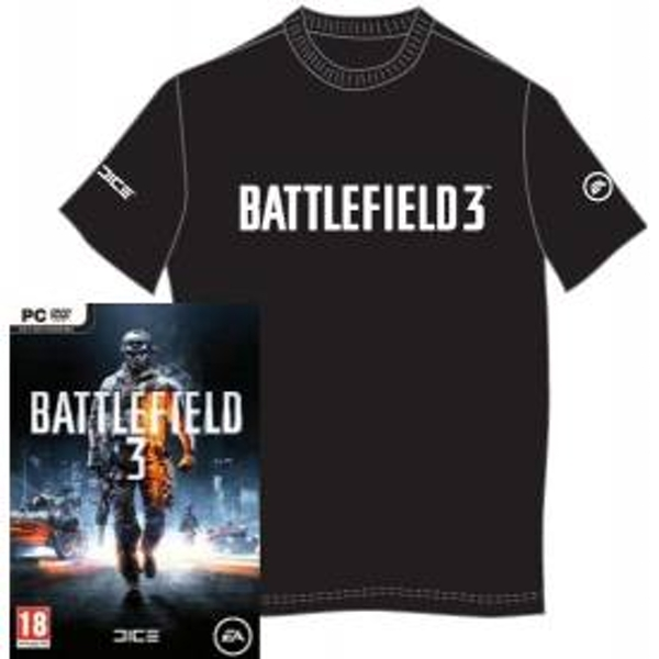 Battlefield 3 Game + T-Shirt PC
