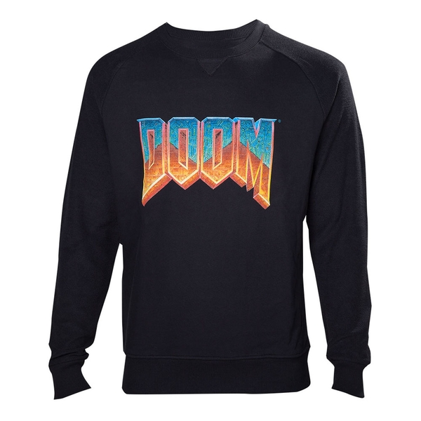 DOOM Mens Vintage Logo X-Large Sweater