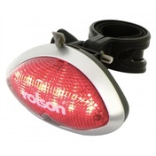 Rolson 5 LED USB Rechargeable Bike Light