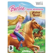 Ex-Display Barbie Horse Adventures Riding Camp Game Wii Used - Like New