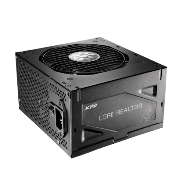 ADATA XPG 650W Core Reactor PSU, Fully Modular, Fluid Dynamic Fan, 80+ Gold, 10 Year Warranty UK Plug