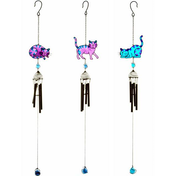 3 Assorted Cat Chime