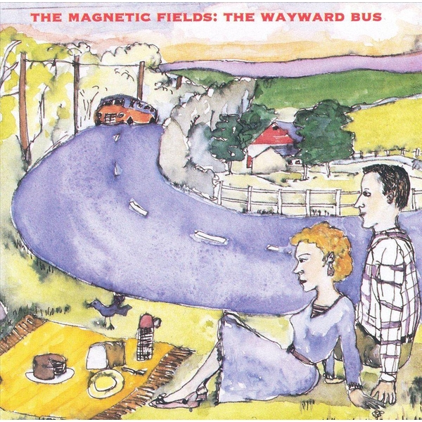The Magnetic Fields ‎- The Wayward Bus / Distant Plastic Trees CD