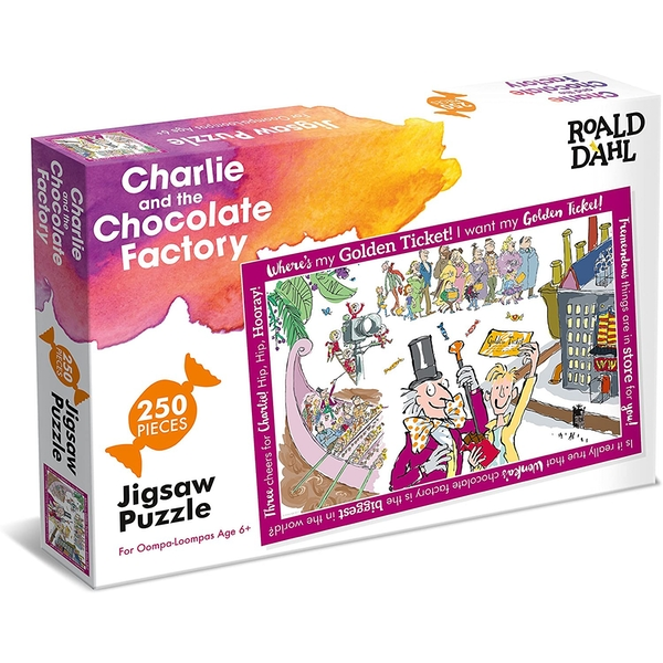 Roald Dahl Charlie and the Chocolate Factory Jigsaw Puzzle - 250 Pieces