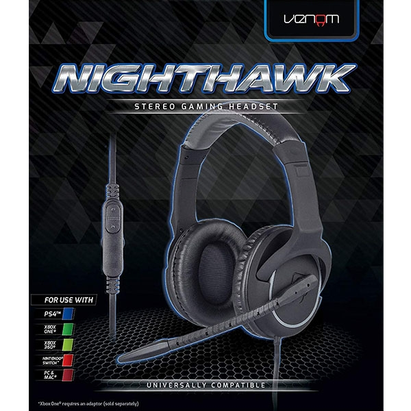 af1633b299c Hey! Stay with us... Venom Nighthawk Stereo Gaming Headset (PS4/Xbox ...