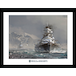 World of Warships Bismark Framed Collector Print - Image 2