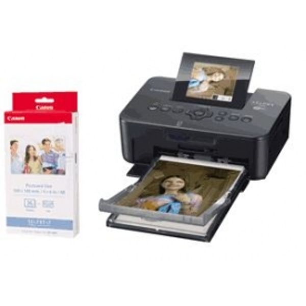 Canon SELPHY CP910 Black Compact Photo Printer Kit inc KP